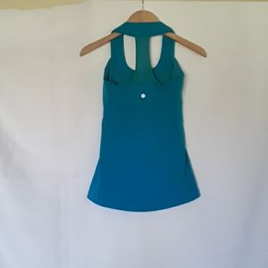 Lululemon Teal Blue Tank Top